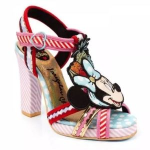 Irregular Choice x Disney Tropical Minnie Heels 36
